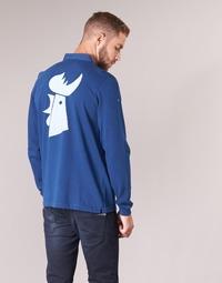 Textiel Heren Polo's lange mouwen Serge Blanco POLO France Blauw