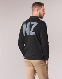 Textiel Heren Polo's lange mouwen Serge Blanco POLO NEW ZEALAND Zwart