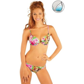 Textiel Dames Bikini Litex Mix & Match Bikinitop met push-up cups Manon Roze