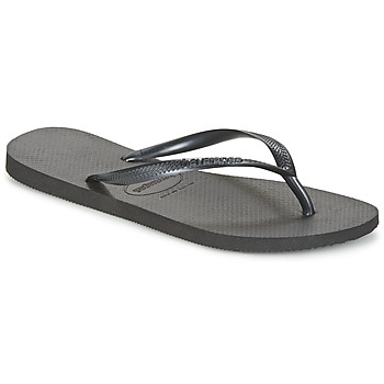 Schoenen Dames Teenslippers Havaianas SLIM Zwart