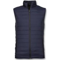 Textiel Heren Dons gevoerde jassen Y Chromosome Bodywarmer - Casual Bodywarmer - Blauw
