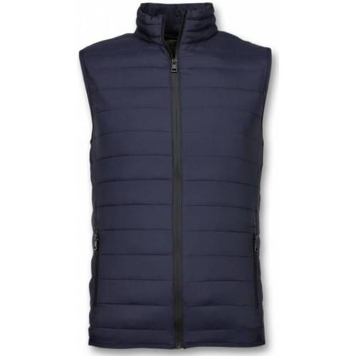 Textiel Heren Dons gevoerde jassen Y Chromosome Bodywarmer Bodywarmer Blauw