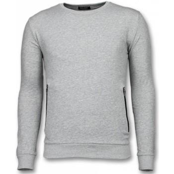 Textiel Heren Sweaters / Sweatshirts Enos Crewneck Buttons Grijs