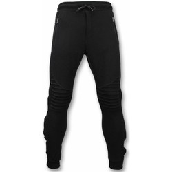 Textiel Heren Trainingsbroeken Enos Casual Jogginbroek - Buttons Joggingbroek - Grijs