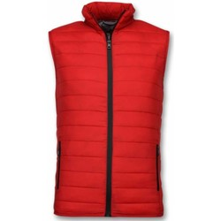 Textiel Heren Dons gevoerde jassen Y Chrom Bodywarmer Heren - Casual Bodywarmer - Rood 8