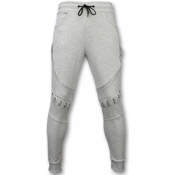 Textiel Heren Trainingsbroeken Enos Joggingbroek Biker Braided Grijs