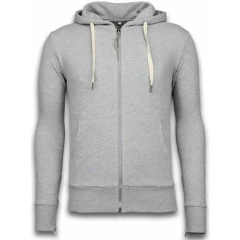 Textiel Heren Sweaters / Sweatshirts Bb Bread & Buttons Vest Side Zippers Grijs