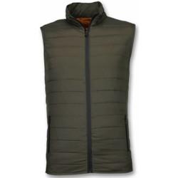 Textiel Heren Dons gevoerde jassen Y Chromosome Bodywarmer Heren - Casual Bodywarmer - Groen 25