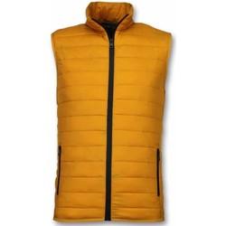 Textiel Heren Dons gevoerde jassen Y Chromosome Bodywarmer Heren - Casual Bodywarmer - Geel 4