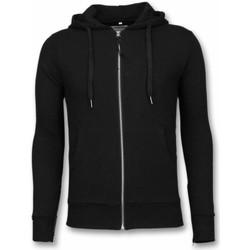 Textiel Heren Sweaters / Sweatshirts Bb Bread & Buttons Vest Side Zippers Zwart