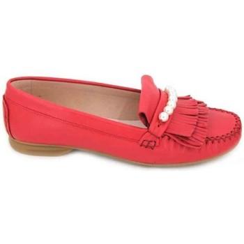 Schoenen Dames Derby & Klassiek Sabrinas 89001 Mocasines de Mujer Rood