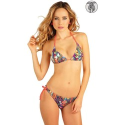 Textiel Dames Bikinibroekjes- en tops Litex Mix & Match triangle Bikini top Jade Paars