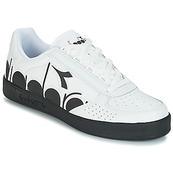 Schoenen Heren Lage sneakers Diadora B.ELITE BOLDER Wit / Zwart