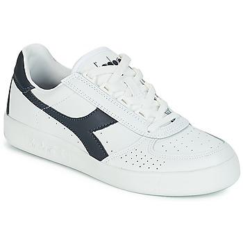 Schoenen Lage sneakers Diadora B.ELITE Wit / Marine