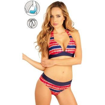 Textiel Dames Bikinibroekjes- en tops Litex Mix & Match Bikinitop met push-up cups Jolanda Blauw