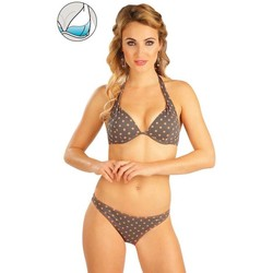 Textiel Dames Bikinibroekjes- en tops Litex Mix & Match Bikinitop met push-up cups. Bruin