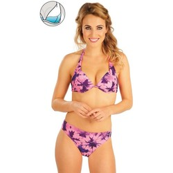 Textiel Dames Bikinibroekjes- en tops Litex Mix & Match Bikinitop met push-up cups. Multicolor
