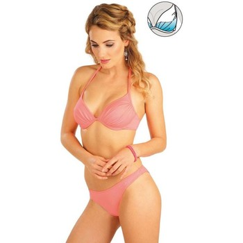 Textiel Dames Bikinibroekjes- en tops Litex Mix & Match Bikinitop met push-up cups. Oranje