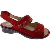 Schoenen Dames Sandalen / Open schoenen Calzaturificio Loren LOM2716ro rosso