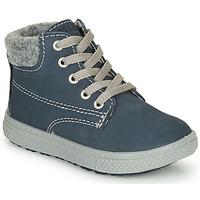 Schoenen Jongens Laarzen Primigi BARTH 19 Blauw