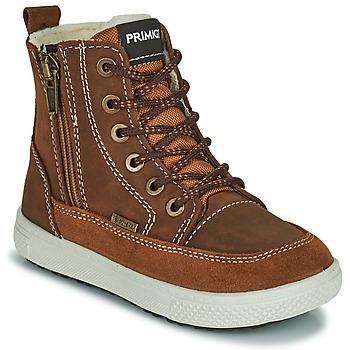 Schoenen Jongens Laarzen Primigi PCA 24130 Bruin