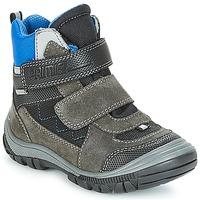 Schoenen Jongens Snowboots Primigi (enfant) PNA 24355 GORE-TEX Grijs / Blauw
