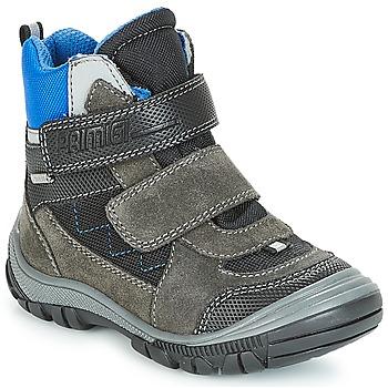 Schoenen Jongens Snowboots Primigi PNA 24355 GORE-TEX Grijs / Blauw