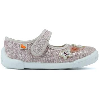 Schoenen Kinderen Ballerina's Vulladi HANDTASSEN  DESI PIÑA K 5419VULLADI LINO FLORES K 578 roze