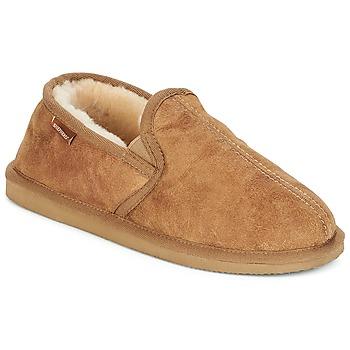 Schoenen Heren Sloffen Shepherd BOSSE Camel