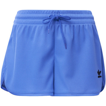 Textiel Dames Korte broeken / Bermuda's adidas Originals Fashion League Rib Short blue