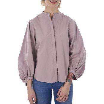 Textiel Dames Overhemden Vero Moda THEA LS BELL SLEEVE SKIRT D2-7 Violet