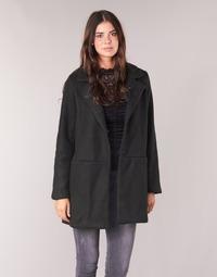 Textiel Dames Mantel jassen Vila VIDORY Zwart