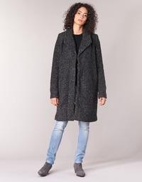 Textiel Dames Mantel jassen Vila VICAT Zwart