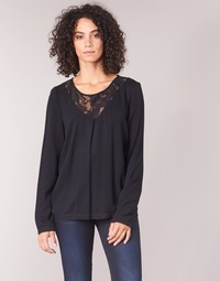 Textiel Dames Tops / Blousjes Vila VIEVERLY Zwart