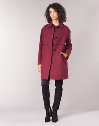 Textiel Dames Mantel jassen Sisley FAREDA Bordeau