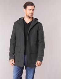 Textiel Heren Mantel jassen Sisley FEDVUN Grijs