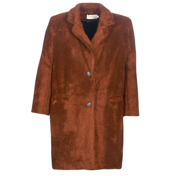 Textiel Dames Mantel jassen See U Soon REVENTA Bruin