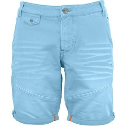 Textiel Heren Korte broeken / Bermuda's No Excess Short, sweat, slimfit, gd coloured blue Blauw