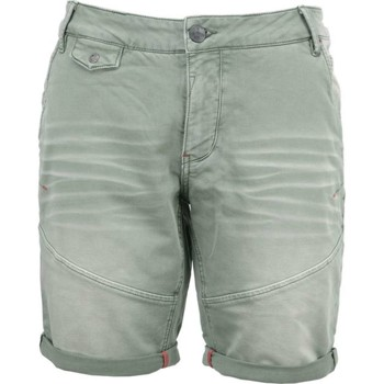 Textiel Heren Korte broeken / Bermuda's No Excess Short, sweat, slimfit, gd coloured steel Groen