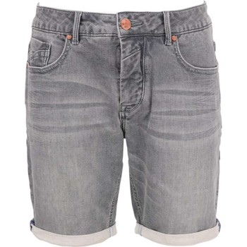 Textiel Heren Korte broeken / Bermuda's No Excess Short, sweat, knitted jog denim str grey denim Grijs
