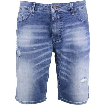 Textiel Heren Korte broeken / Bermuda's No Excess Short, denim stone used denim Denim