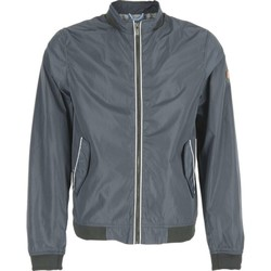 Textiel Heren Wind jackets No Excess Jacket, short fit, su coll ribs, do night Grijs