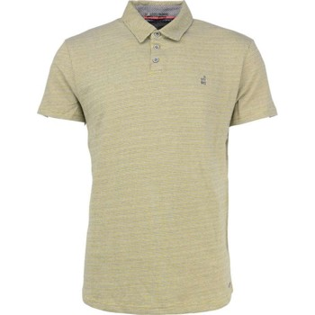 Textiel Heren Polo's korte mouwen No Excess T-shirt s/sl, polo, 3 coloured jacq gold Geel
