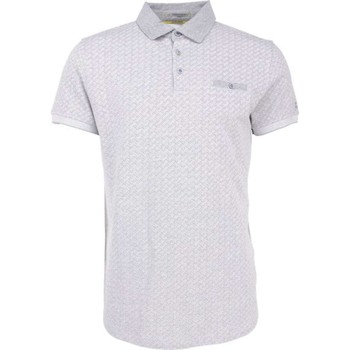 Textiel Heren Polo's korte mouwen No Excess T-shirt s/sl, polo, yarn dyed jacqu grey melange Grijs