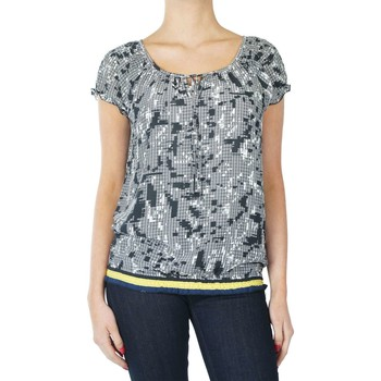 Textiel Dames T-shirts & Polo's Geisha Top Zwart