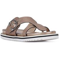 Schoenen Dames Sandalen / Open schoenen Elvio Zanon SANDALO CRACKEL Grigio