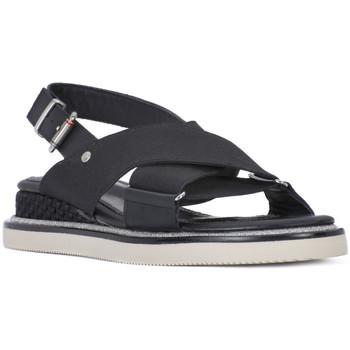 Schoenen Dames Sandalen / Open schoenen Tommy Hilfiger 990 SPORY STRECH Nero