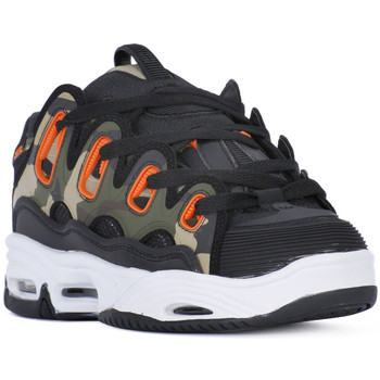 Schoenen Heren Allround Osiris D3 BLACK ORANGE CAMO Nero