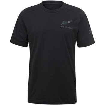 Textiel Heren T-shirts korte mouwen adidas Performance All Blacks Athletics Eclipse T-shirt Zwart