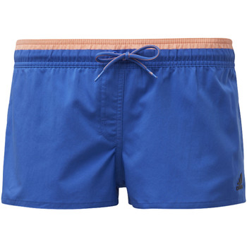 Textiel Dames Zwembroeken/ Zwemshorts adidas Performance 3-Stripes Beach Short blue